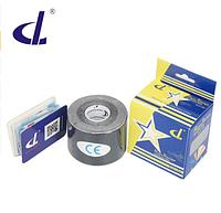 Кинезио тейп Kinesio tape DL RAYON 5 см х 5 м  ВИСКОЗА черный