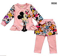 Костюм Minnie Mouse для девочки. 90, 100, 110 см