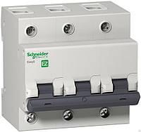 Автоматический выключатель Schneider 3р 63 А С (EZ9)
