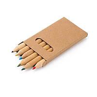 Коробка з 6-ю кольоровими олівцями