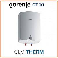 Бойлер 10 л Gorenje GT 10 O B9 (вертикальный, над мойкой, мокрый ТЭН)