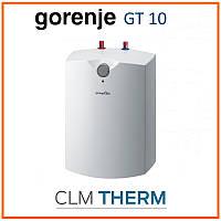 Бойлер 10 л Gorenje GT 10 U B9 (вертикальный, под мойкой, мокрый ТЭН)