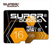 Карта памяти Micro SD 16GB, 10 класс.