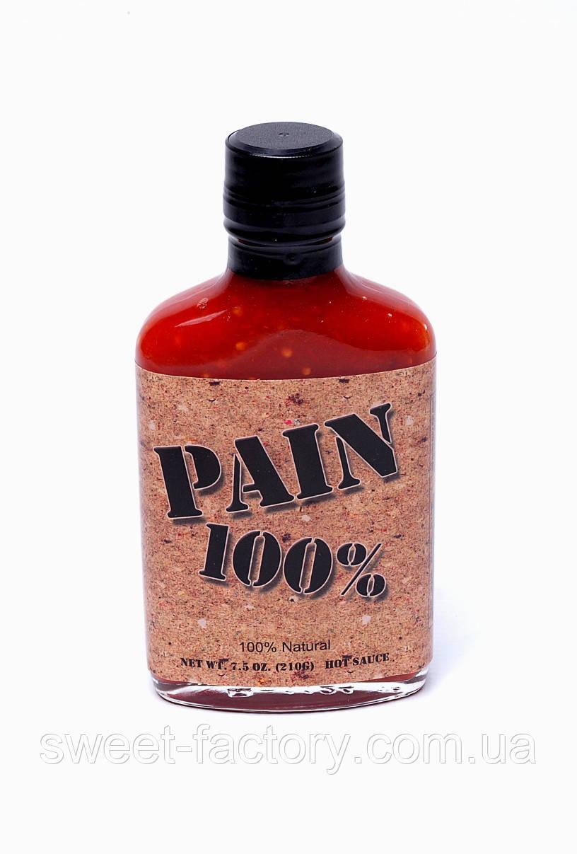 Острый соус 100% PAIN Original HOT HABANERO Sauce