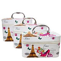 Набор из 3 Сундуков 5 Рисунков (Eiffel Tower), фото 1