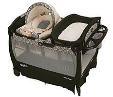 Graco манеж-кровать с переносной люлькой(Graco Pack 'n Play Playard with Cuddle Cove Rocking Seat Ri