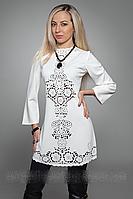 Стильное женское платье  345-4 (А.Н.Г. )р.46,48,50