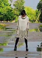 Платье-пончо в стиле БОХО