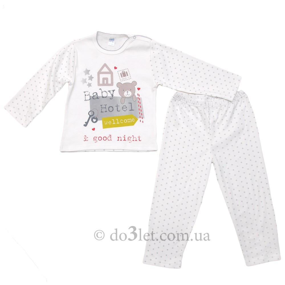 0f53906e6510 Красивая пижама для девочки Minikin 15298 р.92 белый, цена 236 грн ...