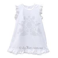 Красивое крестильное платье для новорожденной Minikin 1680002 р.62 белый