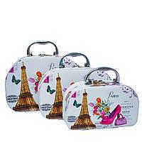 Набор из 3 Сундуков 4 Рисунка (Eiffel Tower), фото 1