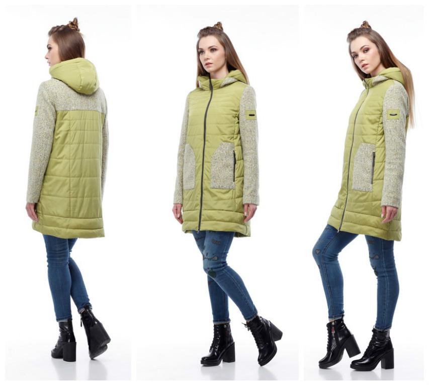 5a12a89bbaa0 Женское демисезонное пальто Эрика - Интернет-магазин