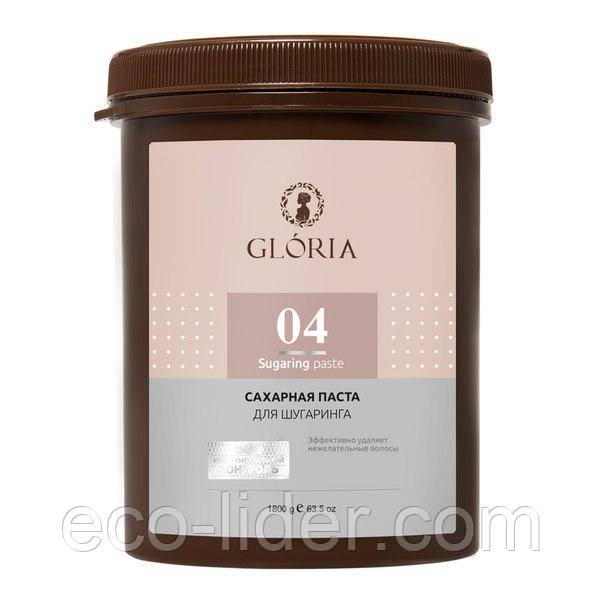Сахарная паста для эпиляции Глория, Gloria, 1,8 кг плотная