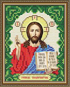 """Набор алмазной вышивки (мозаики) икона """"Господь Вседержитель"""" формат А5"""