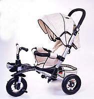 Велосипед-коляска Super Trike, спинка опускается, усиленная рама