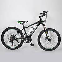 Велосипед подростковый HAMMER 24 дюйма, SHIMANO, 21 скорость