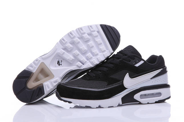 Кроссовки мужские NIKE Air Max 91 Premium BW Black/White, фото 2