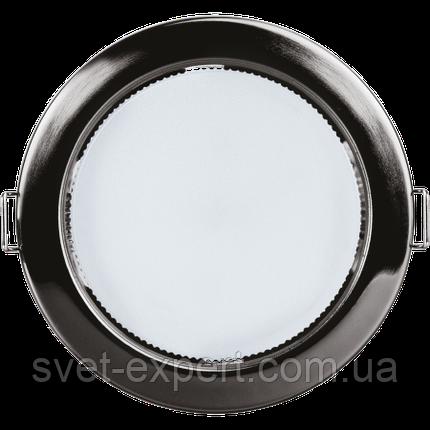 Navigator 71281 NGX-R1-005-GX53(Черный хром), круг. врезной под лампу GX53, фото 2