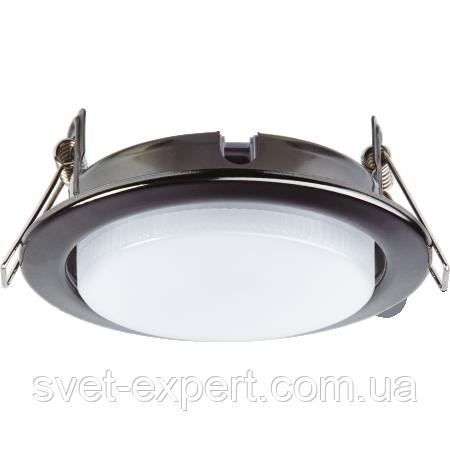 Navigator 71281 NGX-R1-005-GX53(Черный хром), круг. врезной под лампу GX53