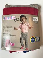 Велюровые детские штанишки Lupilu на девочку 6-12 мес набор из 2 шт.
