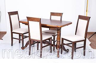 """Стол деревянный раскладной """"Дуэт"""" для кухни Fusion Furniture, фото 2"""