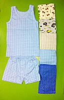 Детские комплекты майка и трусы шорты