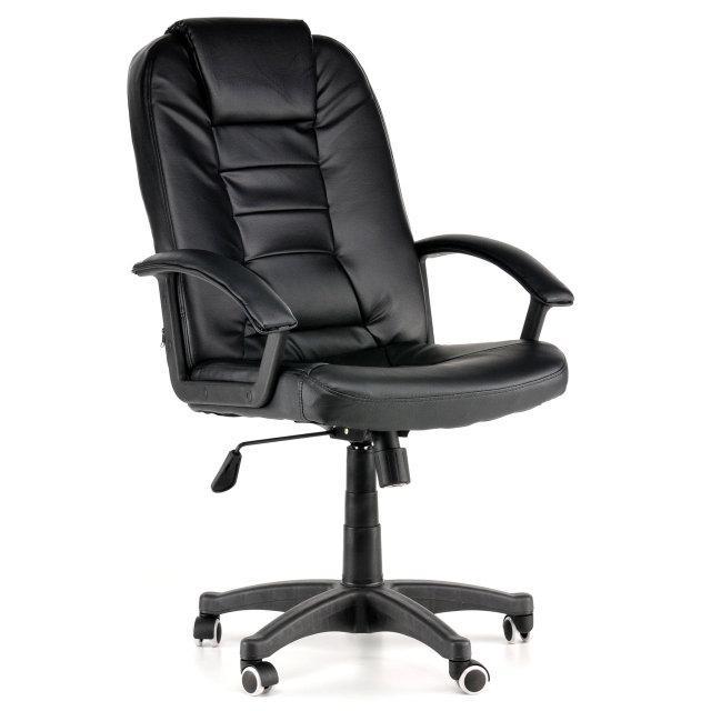 Офісне крісло NEO7410 чорне,темно-коричневе