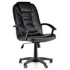 Офисное кресло NEO7410 черное,тёмно-коричневое