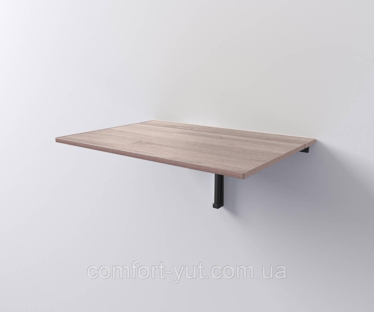 Стол трансформер Настенный (откидной) 90*55 дуб сонома