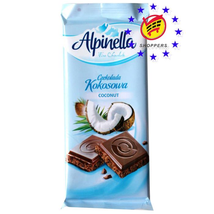 Шоколад Alpinella Кокос 90g