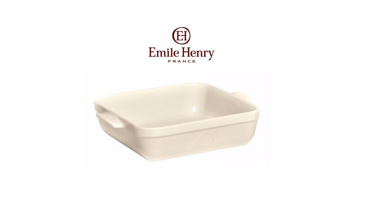 Форма для запекания 28х23 см Emile Нenry (022050) Белая