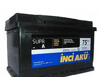 Аккумулято  INCI-AKU SUPR A 75 AH L+700A