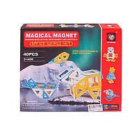 Магнитный конструктор Magical Magnet 712: 40 деталей