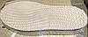 Подошва, (следы) Vioptz 343mmx143mmx3,9mm бежевый, фото 2