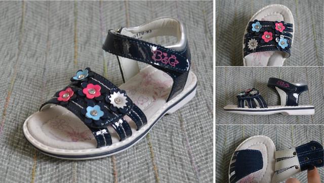Босоніжки B & G дівчинка 170-93 фото