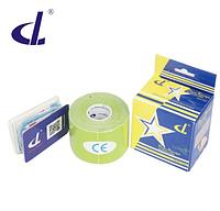 Кинезио тейп Kinesio tape DL RAYON 5 см х 5 м  ВИСКОЗА зеленый