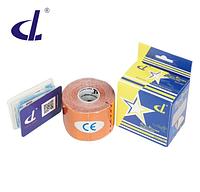 Кинезио тейп Kinesio tape DL RAYON 5 см х 5 м  ВИСКОЗА оранжевый