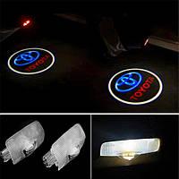 Купить подсветку двери авто Toyota / Тойота (Land Cruiser, Avensis, Prado, Camry, Highlander, Corolla)