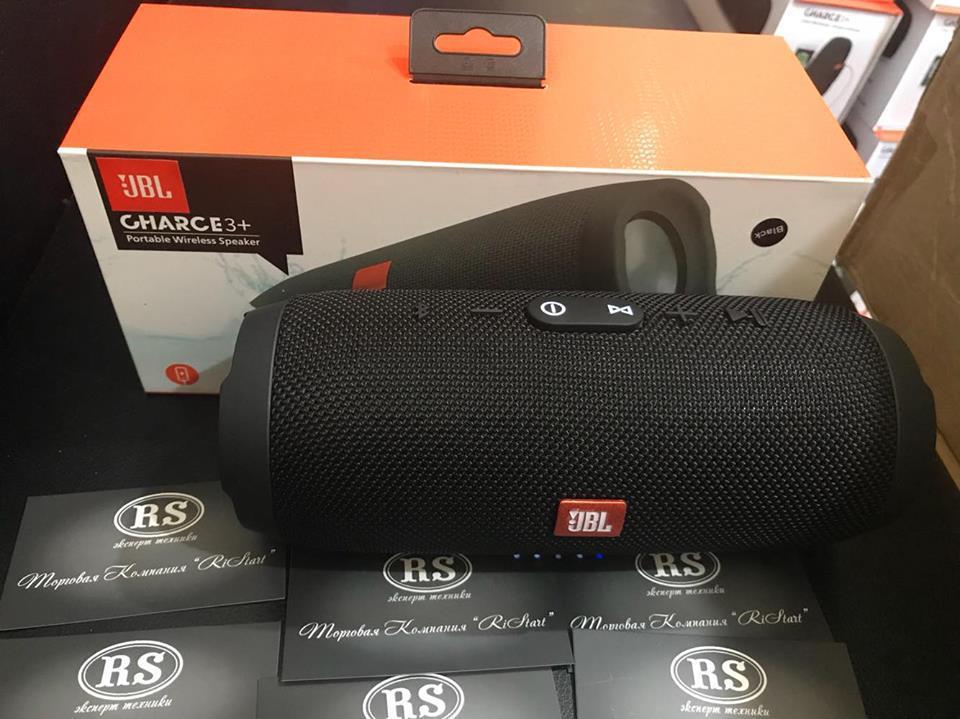 Портативная акустика JBL Charge 3+ copy