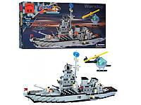 """Конструктор Brick 112 """"Военный корабль"""" 970 деталей"""