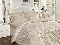 Комплект постельного белья First Choice Satin Cotton полуторный Sweta ekru