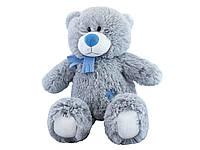 Медвежонок Альберт,Мягкая игрушка с Вашим голосовым приветствием. 60см, серый  –  Бренд Твой toy