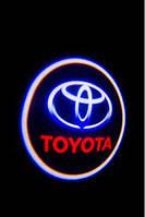 Подсветка логотипа авто Toyota / Тойота (Land Cruiser, Avensis, Prado, Camry, Highlander, Corolla)