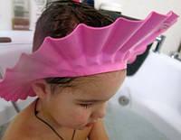 Шапочка-козырек для купания, розовая