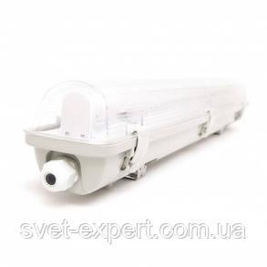 Светильник промышленный / пылевлагозащищенный ЛПП с LED лампами  9W IP65 1*600мм 6400K , фото 2