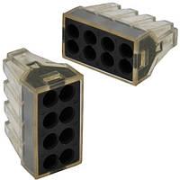 """Экспресс-клемма для распределительных коробок """"WAGO 773-328"""" на 8 проводников, 220В, 25А, 1-2,5 мм. кв."""