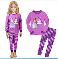 Пижама хлопковая для девочки Принцесса