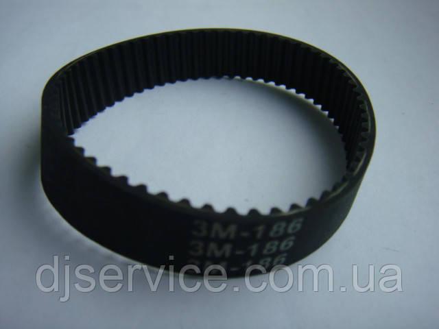 Ремень HTD186 3m 12мм для шкантового фрезера и др.