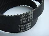 Ремень HTD186 3m 12мм для шкантового фрезера и др., фото 2