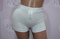 Белые женские трусы шортики, нижнее белье B. Rose